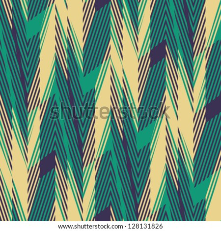 Abstract geometric print. Seamless pattern. Vector. - stock vector