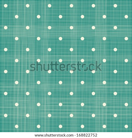 abstract geometric retro seamless polka dot background - stock vector