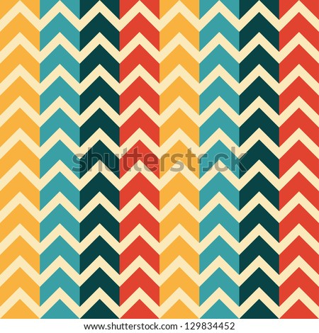 Abstract, geometric seamless pattern - stock vector