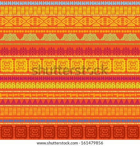abstract geometric seamless pattern, Geometric seamless background , seamless background in ethnic style, ORNAMENT AFRICAN, INDIAN ORNAMENT ,  seamless background with Indian ornaments