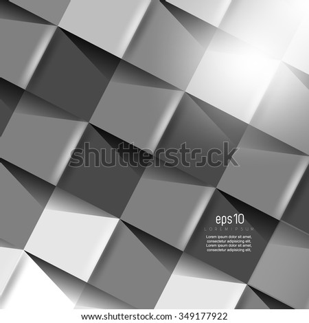 abstract geometric texture background. eps10 vector illustration - stock vector