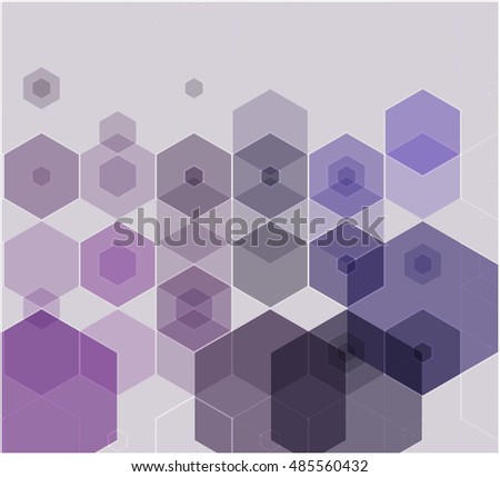 Abstract geometrical triangles background dark blue and purple