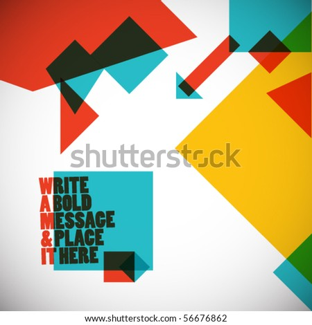 abstract GEoMEtRy - stock vector