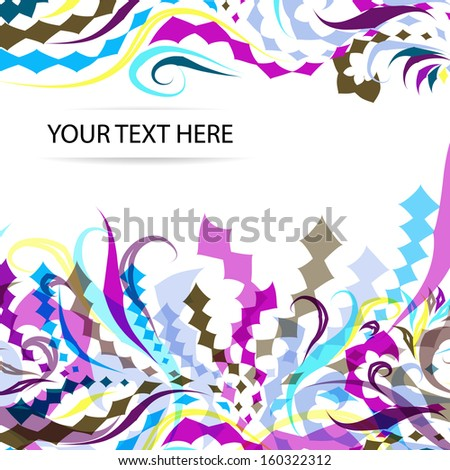 abstract geometry background eps10 format. For using in yor design