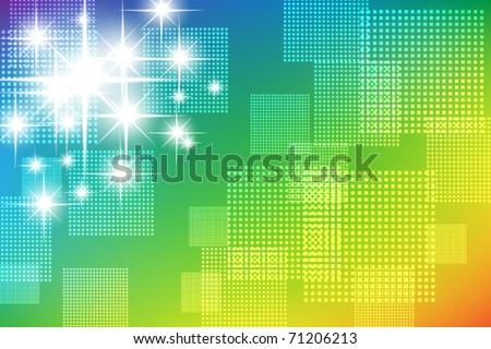 Abstract glittering texture - stock vector