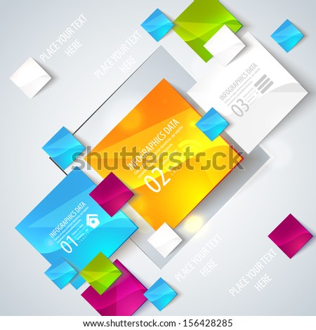 Abstract glossy geometric background use visit stock vector abstract glossy geometric background use visit cards flyers backgrounds vector illustration for reheart Choice Image