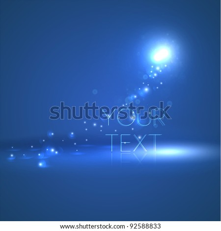 Abstract glow background - stock vector
