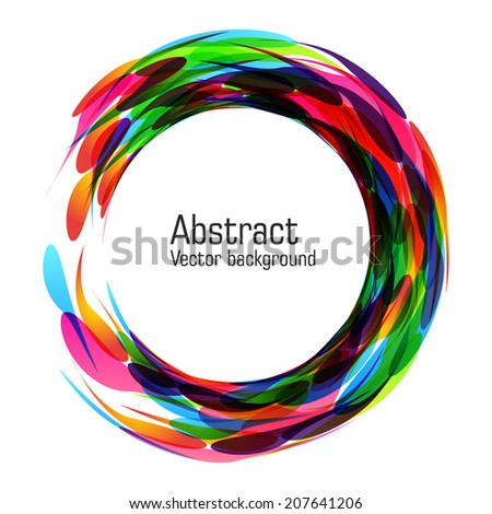 Abstract glow background. Vector. EPS 10.  - stock vector