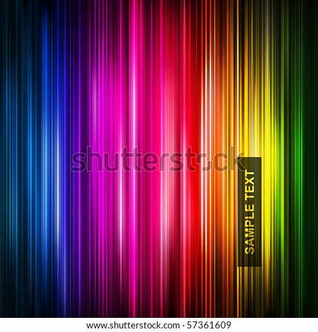 abstract glowing background. Vector illustration - stock vector