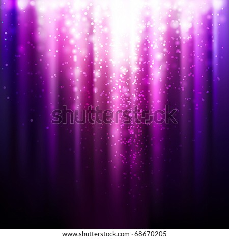 abstract glowing lilac background. Vector illustration - stock vector