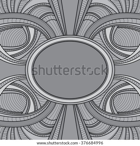 Abstract Graphic Background, Line (Vector Art)