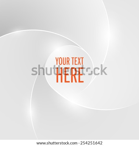 Abstract gray background.can edit your text.vector illustration - stock vector