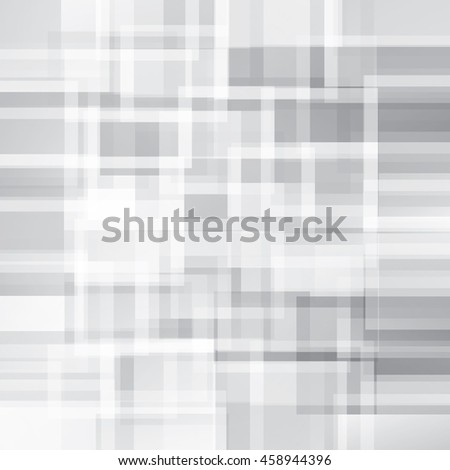Abstract gray squares vector background. - stock vector