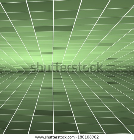 Abstract green background. Vector. Clip-art - stock vector