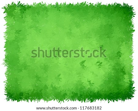 Abstract Green Pine Background - stock vector