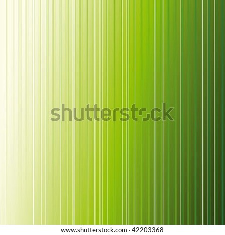 abstract green stripe background - stock vector