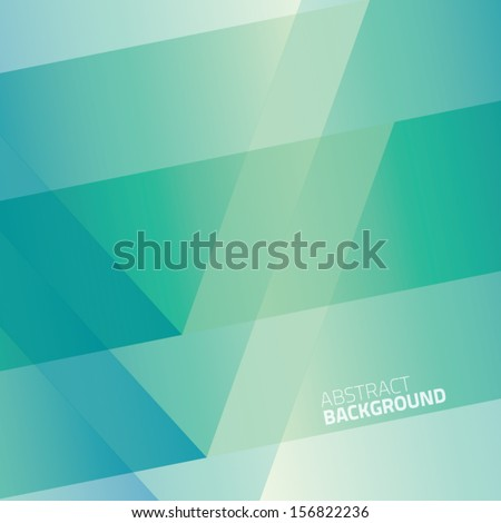 Abstract green vector background - stock vector