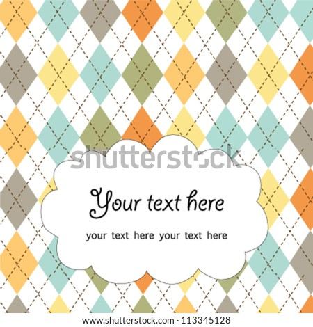 abstract greeting card,vector
