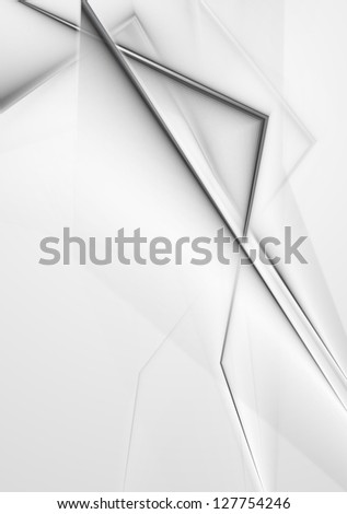 Abstract grey background. Vector design eps 10 - stock vector