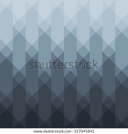 Abstract grey geometric background for design. Vector EPS10 - stock vector
