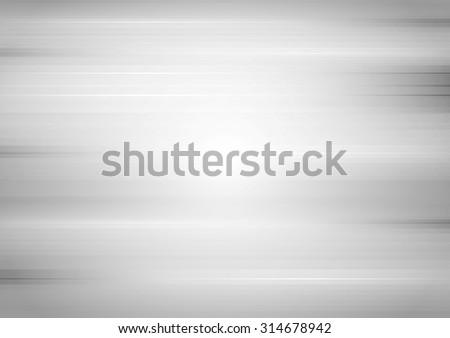Abstract grey tech grunge stripes background. Vector gradient design - stock vector