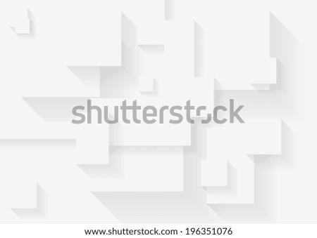 Abstract grey tech vector background - stock vector
