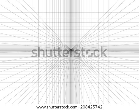 abstract grid line background, vector - stock vector