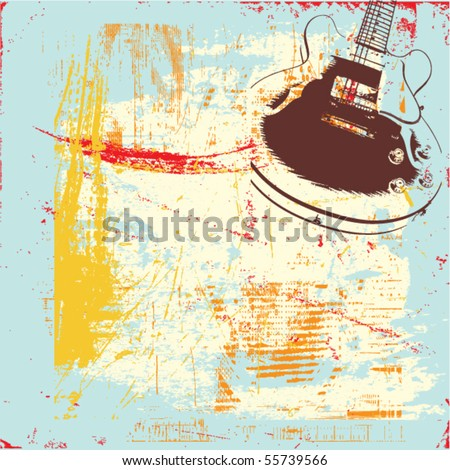 abstract grunge background - stock vector