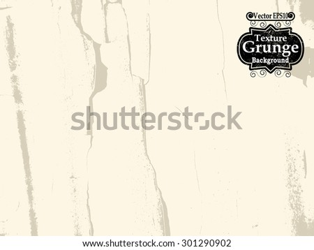 Abstract Grunge Background Texture . Crack Texture. Grunge Background . Vintage Background . Paper Texture . Retro Background . Distress Background . Vector Background - stock vector