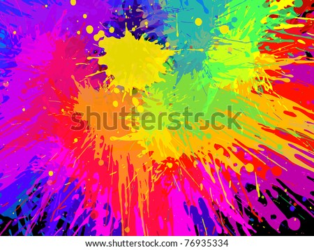 abstract  grunge background, vector - stock vector