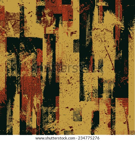 abstract grunge background. vector illustration. - stock vector