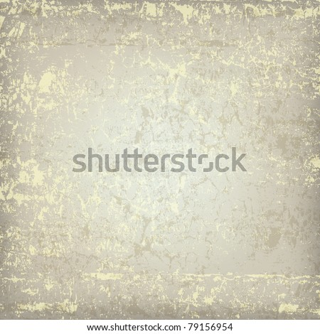 abstract grunge beige background dirty wooden plank - stock vector