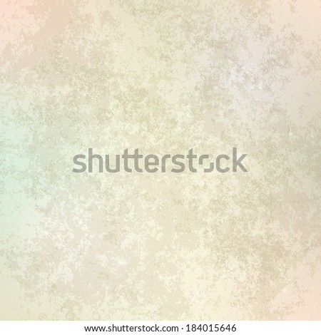 abstract grunge beige background of old paper texture - stock vector