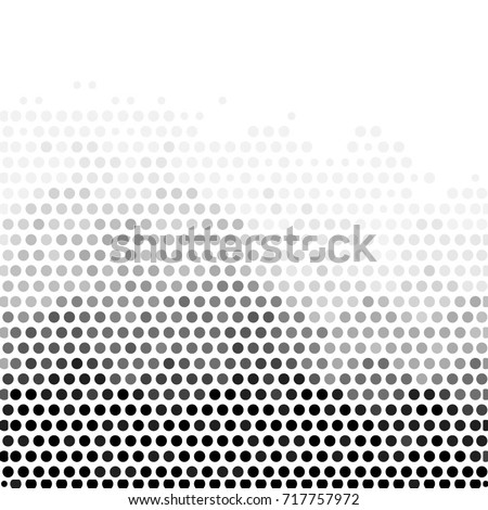 Abstract grunge grid polka dot background pattern. Spotted halftone vector line illustration