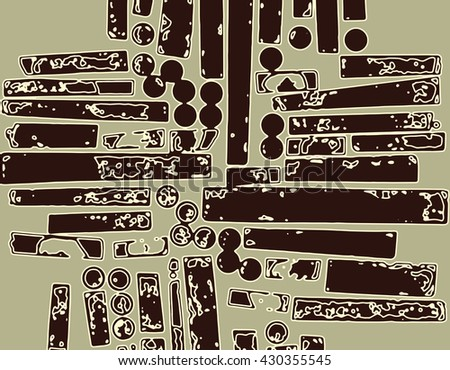 Grunge Camera Vector : Abstract grunge vector background monochrome horizontal stock