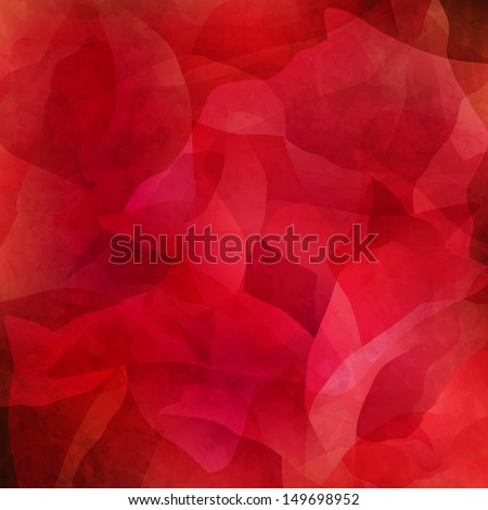 Abstract grungy red background - stock vector