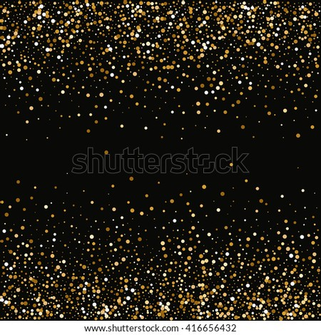 Abstract Halftone Backgrounds. Vector Dotwork Illustration. Texture of the gold points