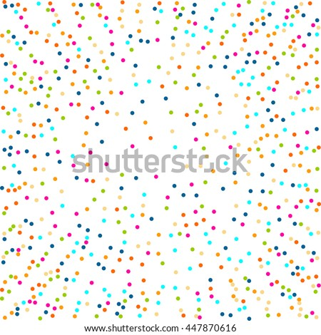 Abstract Halftone Design circle Elements, colour vector illustration, logo