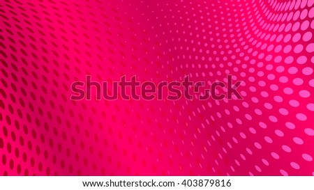 Abstract halftone dots background in pink colors - stock vector