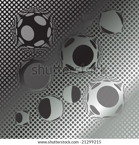 abstract halftone pattern - stock vector