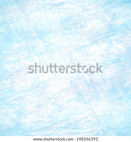 Abstract hand drawn blue background, vector textured background  - stock vector