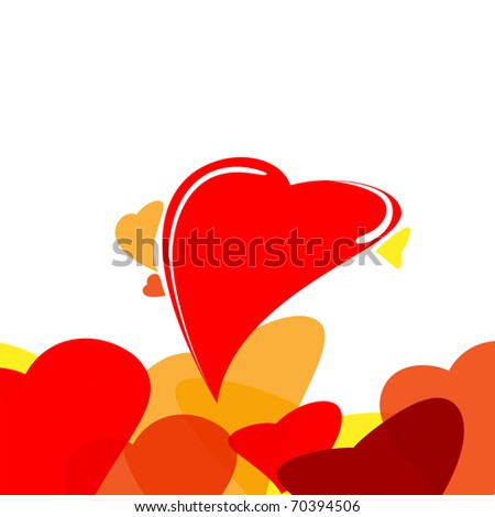 Abstract heart vector eps 10