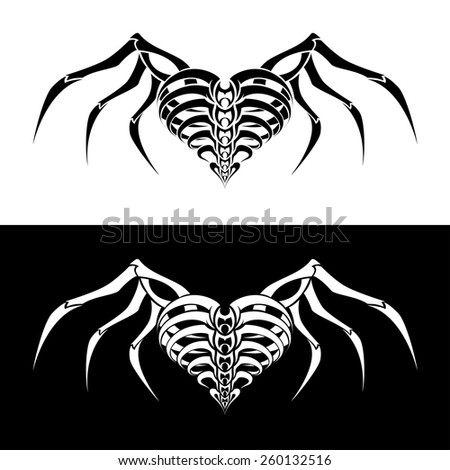 skeleton wings stock images royalty free images vectors shutterstock. Black Bedroom Furniture Sets. Home Design Ideas