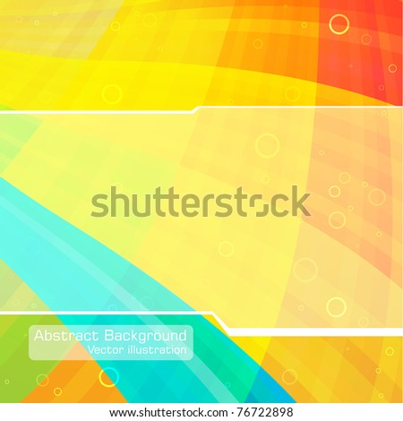 Abstract Hi-tech background. Clip-art - stock vector