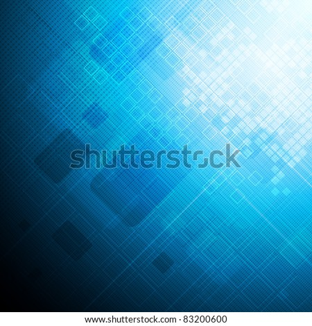 Abstract hi-tech background. Eps 10 vector illustration - stock vector