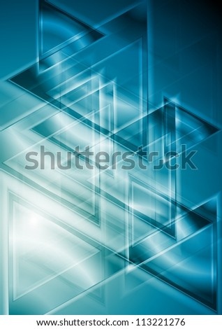 Abstract hi-tech background. Vector illustration eps 10 - stock vector