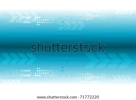 Abstract hi-tech design. Vector eps 10 - stock vector