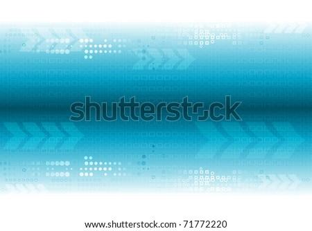 Abstract hi-tech design. Vector eps 10 - stock vector