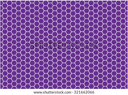 Abstract honeycomb vector background - stock vector