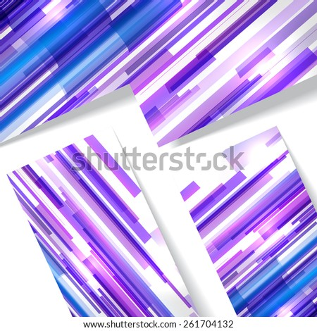 Abstract illustration colorful digital composition. - stock vector
